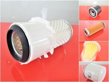 Obrázek servisní sada filtrů filtry pro Kubota KH5 KH05 s motorem Kubota Z600 Set1 filter filtre suP