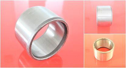 Obrázek 45x55x28 mm ocelové pouzdro uložení - vnitřní hladké / vnější hladké - kalené 50HRC TYP1