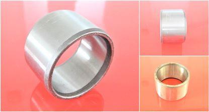 Image de 105x120x120 mm douille en acier à l'intérieur lisse / extérieur lisse 50HRC durci