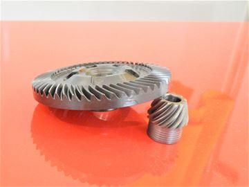 Obrázek Bosch převod bruska GWS 24-230 nahradí original díl GWS24-230 GWS18-230 GWS19-230 GWS20-230 GWS21-230 GWS21-230 23-2300 24-2300 25-230 2000-230 J 20-230 J Tellerrad und Kegelrad Ritzel gear