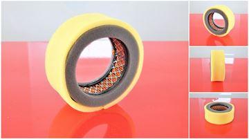 Obrázek vzduchový filtr pro Robin motor EH12-2 filter filtri filtres i pro Weber SRV66 - včetně před filtru - luftfilter air filter suP