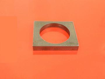 Obrázek příložka čepu 32mm pro bagr stavebni stroj závěs hranatý