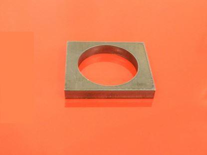 Imagen de brida diametro 32mm por perno rectangular
