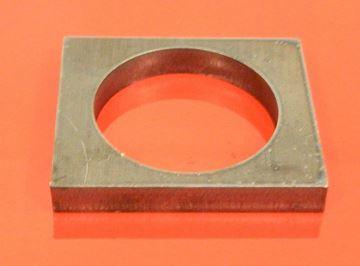 Obrázek příložka čepu 36mm pro bagr stavebni stroj závěs hranatý