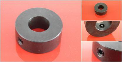 Imagen de navařovací oko 30x63x22 mm s otvorem pro bagr stavebni stroje minibagr nakladač