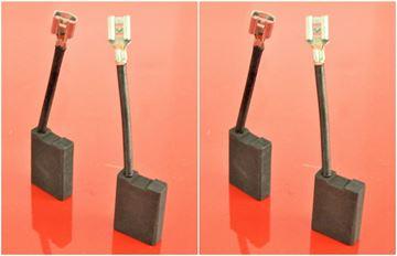 Obrázek uhlíky do HILTI úhlová bruska DCG 180 DCG180 DAG230 DCG230 nahradí original kohlebürsten carbon brushes balais de charbon escobillas de carbón угольные щетки szénkefék 2sets