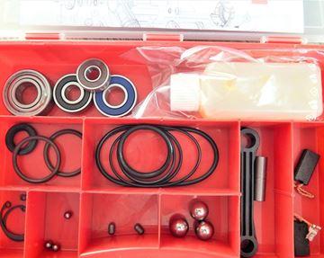 Obrázek Hilti TE 805 TE805 opravní sada ložiska o-kroužky uhlíky ojnička reparatursatz wartung service kit repair set
