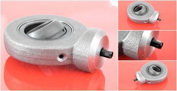 Obrázek hydraulická kloubová hlavice WS17C pro průměr klikové hřídele 17mm nd pro stavební stroj Gelenkkopf hydraulics joint head paliers articulés cojinetes articulados
