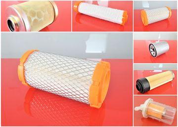 Obrázek servisní sada filtrů filtry pro Zeppelin ZR 15 ZR15 Set1 filter filtre fuel air oil safety filtro