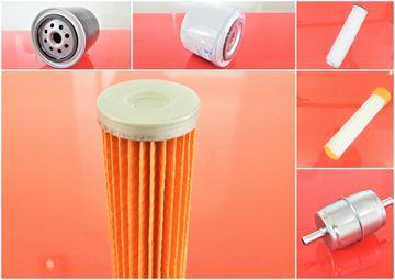 Obrázek kompletní servisní sada filtrů filtry pro Bomag BW138 AC/AD-5 RV 2012- Kubota V2203 filter filtre - complete Set21