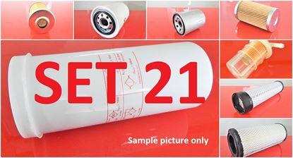 Obrázek sada filtrů pro Volvo EC13 s motorem Mitsubishi L3E náhradní Set21