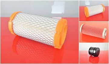 Obrázek servisní sada filtrů filtry pro Takeuchi TB 016 TB016 TB 014 TB014 TB108 TB 108 suP Set1 = 1x palivový 1x vzduchový 1x olejový / motorový filter filtre