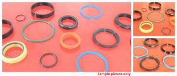 Obrázek těsnění těsnící sada sealing kit pro rychloupínák do Case 480 480B s Backhoe Models 23 26 26B 26S (62958)