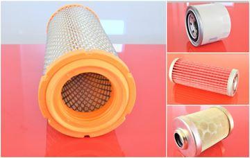 Obrázek servisní sada filtrů filtry pro IHI 35N s motorem ISUZU Set1 suP filter filtre vzduchový palivový před-palivový olejový / motorový