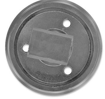 Obrázek vodící napínací kolo Idler vč. bočnic celková výška kola 228/266mm fits Komatsu PC05-1 3D72 PC05-6 PC05-5 PC07 PC07-1 3D72 and others