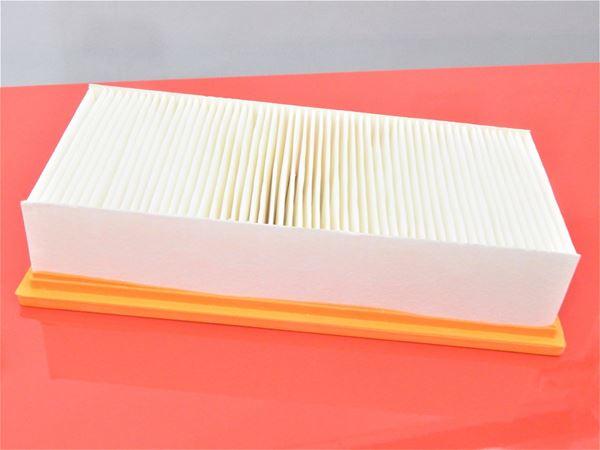 Lamellenfilter Luftfilter Filter für Karcher NT 561 Eco Te