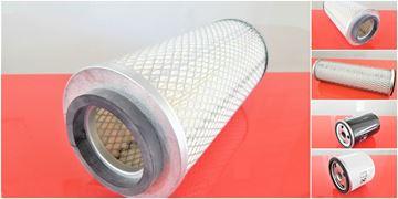 Obrázek servisní sada filtrů filtry pro Ahlmann AL 8D AL8D motor Deutz Set1 filter filtre suP palivový vzduchový olejový patrona
