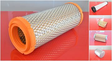 Obrázek servisní sada filtrů filtry pro IHI 30NX 30 NX 30-NX 30/NX motor ISUZU-3LD1 Set1 suP filter filtre air fuel oil safety