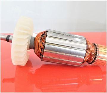 Bild von Anker Rotor Makita GA 7020 R GA 9020-R ersetzt original 516943-1 (ekvivalent) Wartungssatz Reparatursatz Service Kit hohe Qualität Fett und Kohlebürsten GRATIS