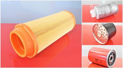 Изображение servisní sada filtrů filtry pro Zeppelin ZL 110 ZL110 Set1 filter filtre vzduchový palivový před-filtr olejový suP