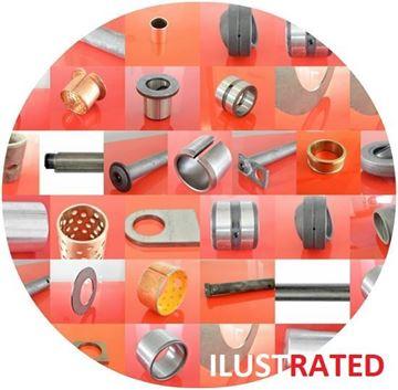 Obrázek ocelové pouzdro pro Yanmar nahradí originál 0172137-84451 vysoká kvalita yanbu