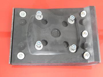 Bild von patka hutnící pro Bomag BT50 s motorem EC08 BT55 s mot. G100 BT60 s motorem EC08 BT65/4 BT65 BT80 BT 50 55 60 65 65/4 80 80D BT80D BT60-4 s motorem GX100 vibrační pěch číslo k porovnání je 54002036 deska nástavec - náhradní + sada šroubů GRATIS + i pro BT 58 68 BT60-4 BT60/4 suP stampffuß stampferplatte ersetzt original breto 280mm
