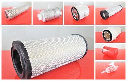 Bild von Filtersatz Filterset für JCB 409 ab Baujahr 01/93 mit Motor Perkins 1004-4 Set21