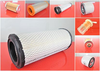 Bild von Filtersatz Filterset für Komatsu PC40-1 mit Motor Komatsu 3D94 Set21