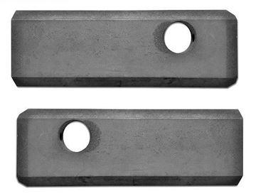 Imagen de soportes para rueda loca 230,5 / 272,3mm - 1pcs izquierda y 1pcs derecha para Cat caterpillar 301.5 301.6 301.8