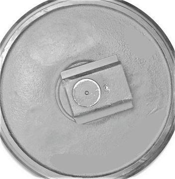 Obrázek vodící napínací kolo Idler vč. bočnic celková výška kola 390/435mm pro Fiat Hitachi ZX75UR EX75UR/3 EX75UR-LC ZX70 ZX75US3 ZX80 JCB 8080 8080ZTS 8085ZTS 8085 JS70 JS70-2 John Deere 75D