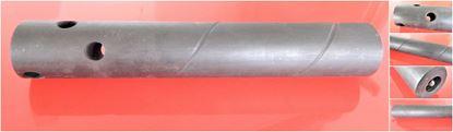 Bild von Schmierwelle Schmierbolzen Stahl 42CrMo gehärtet / geschliffen mit 3 Bohrungen