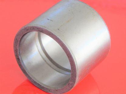 Bild von Stahlbuchse 76,3x89x107 mm Schmiernut innen außen glatt OEM Qualität