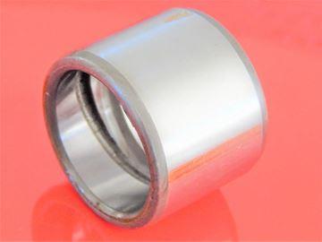 Obrázek ocelové pouzdro 95x110x75 mm vnitřní drážky a vnější hladké OEM kvalita