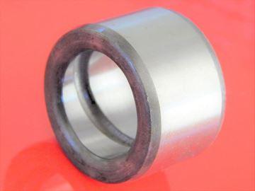 Obrázek ocelové pouzdro 125x140x70 mm vnitřní mazací drážka a vnější hladké OEM kvalita