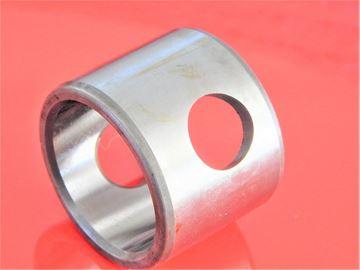 Obrázek ocelové pouzdro 92x104x40 mm specíální mazací otvory OEM kvalita