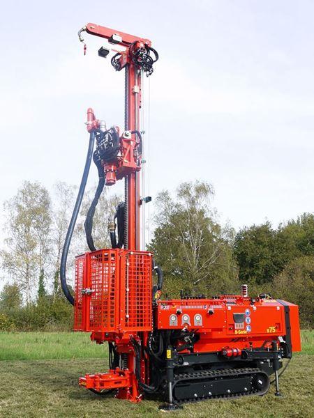 Obrázek Adler B75 vrtací souprava pro geologické vrty studny - vysoce kvalitní mechanizace - různé zařízení a typy strojů pro růzmé hloubky a požadavky