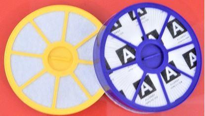 Obrázek HEPA filtr filtry 2ks DYSON DC19 DC20 umyvatelné před a za motor set kit of filters Filtersatz