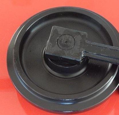 Image de Roue folle incl. supports - hauteur totale de la roue 490/525mm pour Komatsu D39EX21 D39EX22 D41E6B D41P6 D41P6B