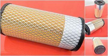 Obrázek vzduchový filtr patrona Kubota minibagr KX 101-3a2