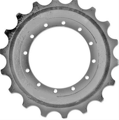 Image de pignon turas roue motrice pour Hitachi HX 99B HX99B