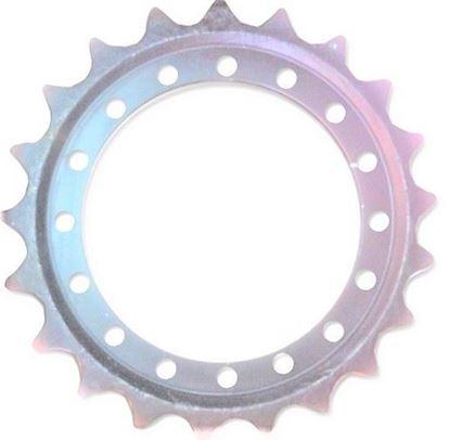 Image de pignon turas roue motrice 383/16/21/594/61 pourHitachi ZX135UR ZX135US John Deere 135C-RTS 135D Takeuchi TB1140 ...