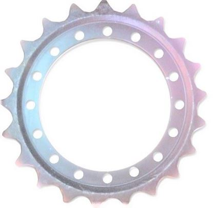 Image de pignon turas roue motrice 431/16/21/656/72 pour Fiat Hitachi FH200 FH220 EX225 EX200 EX220...