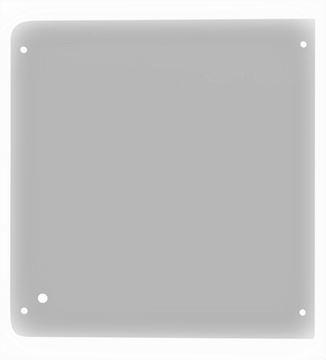 Obrázek přední horní sklo kabiny pro Wacker Neuson 1000003351 kvalita skleněná výplň suP