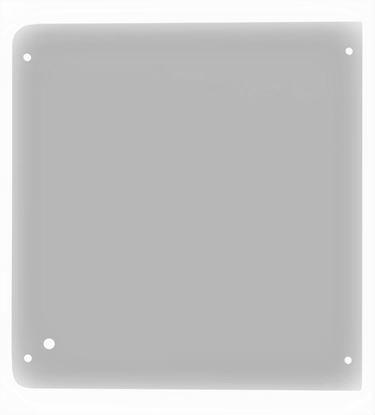 Bild von Frontscheibe oben Kabine Glas für Wacker Neuson 1000003351 Qualität Glasscheibe