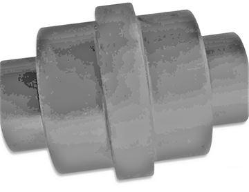 Obrázek vodící rolna spodní kladka instalační šířka 139mm Type A26 pro JCB 801-4 801.4 8015 801.5 8016 801-6 8017 8018 8020 ...
