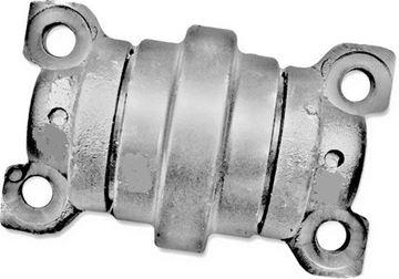 Obrázek vodící rolna spodní kladka instalační šířka 110mm Type A46 pro Case CX25 CX28 Kubota KH71 KX61-old type KX71-old type RX301 KH61 KH66 KX027.4 KX027-4 KX027/4