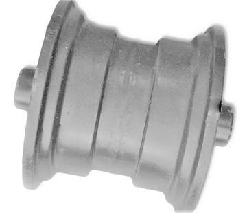 Obrázek vodící rolna spodní kladka instalační šířka 125mm Type A56 pro Kobelco SK013 SK013-1 SK015 SK015-1 SK015R SK13SR Takeuchi TB015