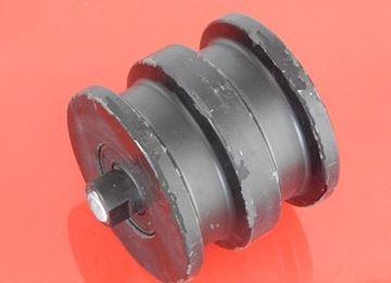 Obrázek vodící rolna spodní kladka instalační šířka 101mm Type A66 pro Sunward SWE17 Takeuchi TB014 TB016 TB15 TB15A TB15FR TB215 TB215R TB216 TB219