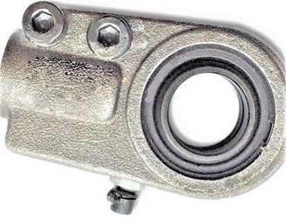 Image de hydraulická kloubová hlavice pro bagr nakladač stavební stroj WGAS40 přitahovací závit těžké provedení gelenkkopf