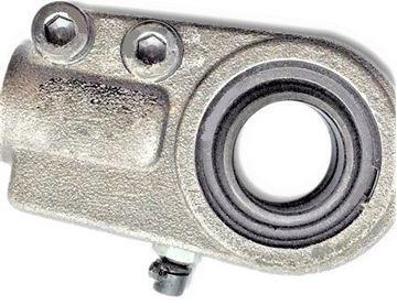 Obrázek hydraulická kloubová hlavice pro bagr nakladač stavební stroj WGAS90 gelenkkopf přitahovací závit těžké provedení